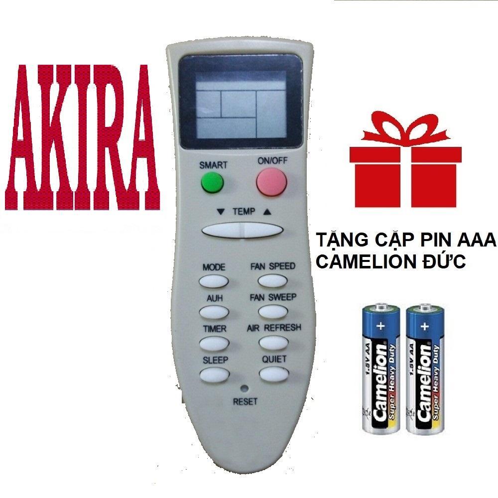 Remote điều khiển máy lạnh AKIRA mẫu 1