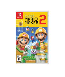 Game Nintendo Switch - Super Mario Maker 2 (Nguyên Seal) Hệ US thumbnail