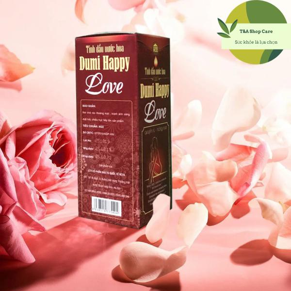 Tinh dầu nước hoa Dumi Happy Love - Nước hoa vùng kín giá rẻ