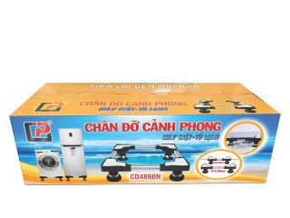 Chân Đỡ Máy Giặt Tủ Lạnh Cảnh Phong CD4860N (Chân Inox 48-60cm )