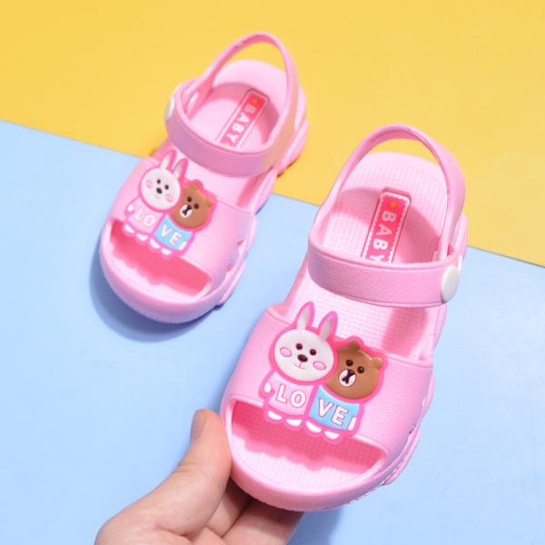 Giá bán Giày Sandal cho bé gái hình đôi bạn thỏ