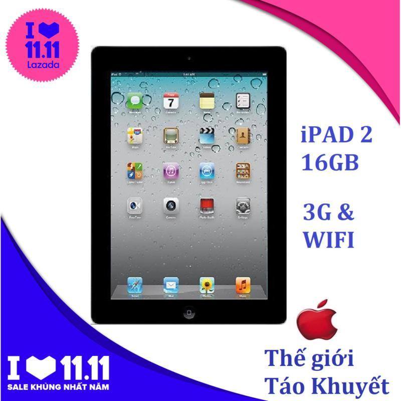 Máy tính bảng giá rẻ IPAD 2 - 16GB - Phiên bản 3G & WIFI - Bảo hành 1T - Thế Giới Táo Khuyết