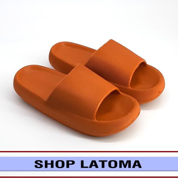 Dép bánh mì nữ, Dép quai ngang đế bánh mì, Dép nữ Hot Trend, Dép đi học thời trang cao cấp Latoma TA4241 (Dép form lớn khách vui lòng chọn nhỏ hơn 1 size)(Nhiều Màu) giá rẻ