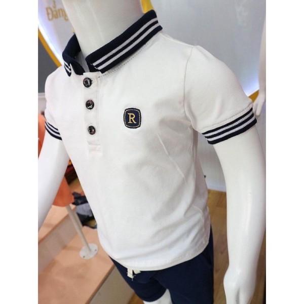 Nơi bán Áo Thun Polo Cotton Cao Cấp Cho Bé Iu Từ 6-27 Kg
