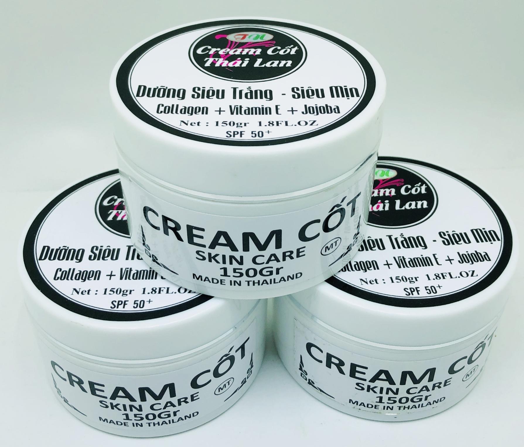 Deal Ưu Đãi Cream Cốt Thái Lan Siêu Trắng Siêu Mịn 150g