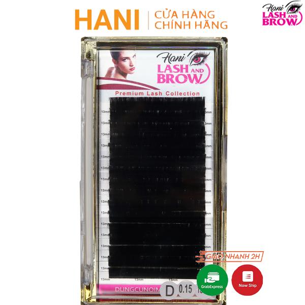 Mi khay [Cao Cấp] Hani - Mi nối classic và volume - siêu đen độ cong C giá rẻ