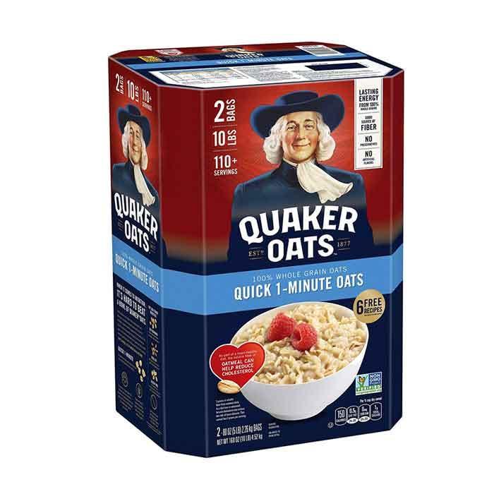 Yến Mạch Mỹ Cán Vỡ Quaker Oats 4.52kg (one Minute) Đang Có Khuyến Mãi