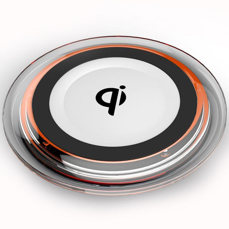 Bảng giá Q6 wireless charging transmitter QI standard apple / Android crystal wireless charger general Phong Vũ