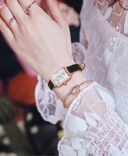 Đồng hồ nữ Julius Hàn Quốc JA-1280 dây da - tặng kèm dây thép thumbnail