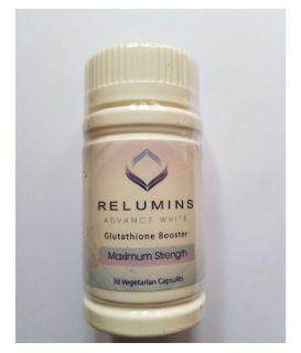 Relumins Glutathione Booster giúp Trắng Da nhanh chóng hộp 30v dùng trong 1 tháng của Mỹ thumbnail