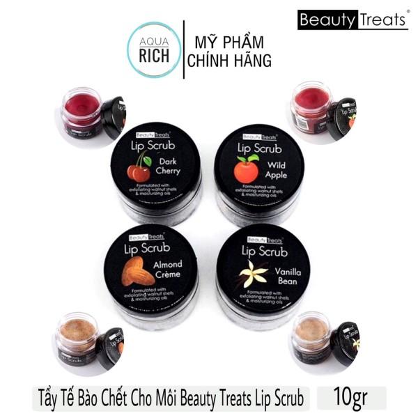 Tẩy Tế Bào Chết Môi Beauty Treats Hũ Lip Scrub 10g Đủ Mùi giá rẻ
