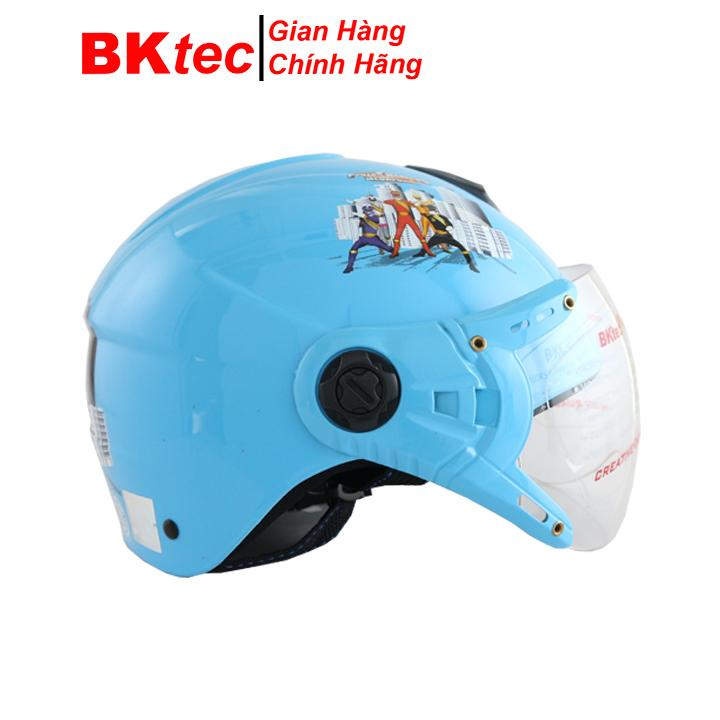 Giá bán Mũ bảo hiểm siêu nhân gao mũ bảo hiểm trẻ em Bktec an toàn tuyệt đối