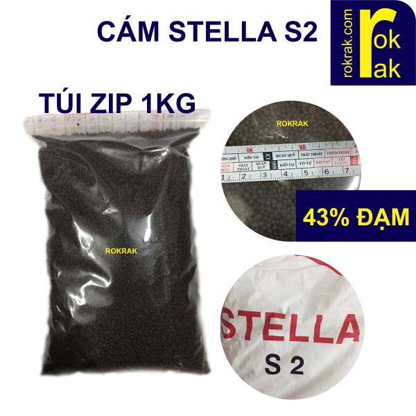 Cám Stella S2 Túi 1Kg Thức ăn cho cá Koi hạt nhỏ