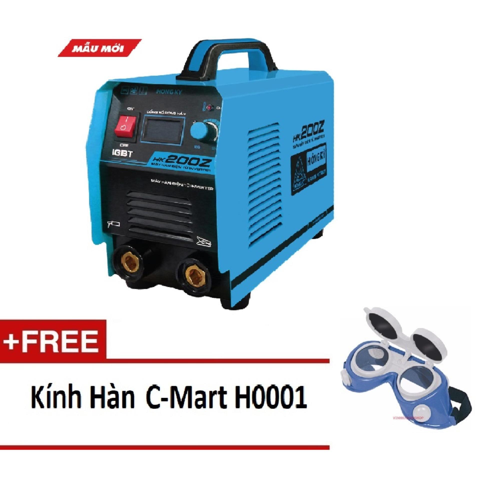 Máy hàn que điện tử Hồng ký HK 200Z + phụ kiện hàn [combo][WM][HHK]