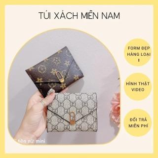 Ví nữ đẹp mini ngắn cầm tay nhỏ gọn dễ thương cute nhiều ngăn bỏ túi thời trang cao cấp giá rẻ HT19 thumbnail