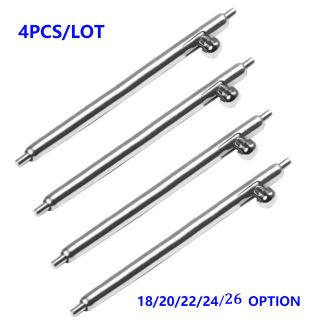 18mm 20mm 22mm 24mm 26mm Quick Release Spring Bars Pins For Sumsung Gear S2 S3 Pins Watch Strap Replacement Band- 4Pcs lot thumbnail