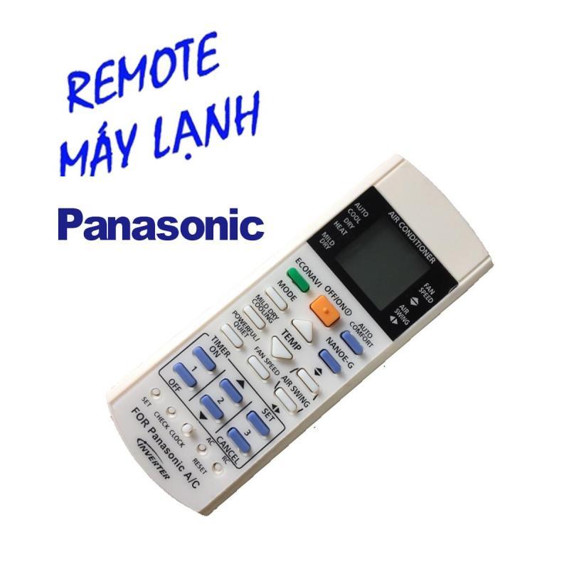 Remote điều khiển cho điều hòa Panasonic Inverter 1 và 2 chiều