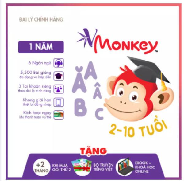 Bảng giá Vmonkey 1 NĂM - Kho truyện tranh tương tác và kho sách nói khổng lồ Phong Vũ