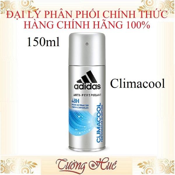 Xịt Khử Mùi Nam Adidas CLIMACOOL Anti-Perspirant - 150ml giá rẻ