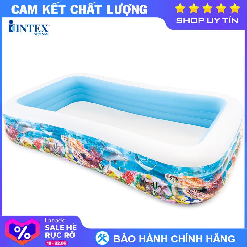 Bể Bơi Phao đại Dương INTEX 58485 - Hồ Bơi Cho Bé Mini, Bể Bơi Phao Trẻ Em Đang Trong Dịp Khuyến Mãi