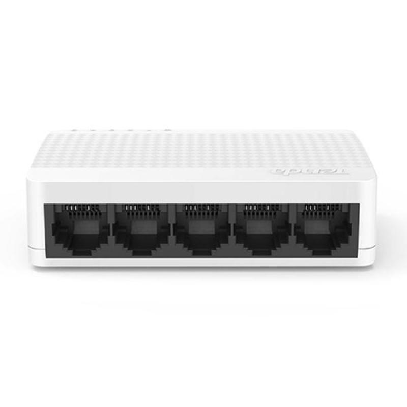 Bảng giá Bộ chia mạng 5 cổng Tenda S105 Switch 5 port 10/100MMbps Phong Vũ