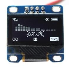 Hình ảnh 0.96 inch I2C IIC SPI Nối Tiếp 128x64 OLED MÀN HÌNH LCD Màn Hình Hiển Thị LED Module Arduino-Màu Trắng-intl