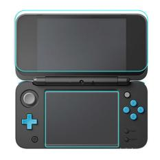 Hình ảnh 1 Set 9H Hardness Tempered Glass Screen Protector Film Anti-Scratch High Definition 1 Top + 1 Bottom for Nintendo New 2DS XL LL - intl