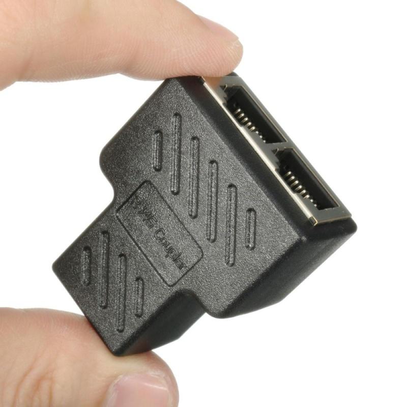 Bảng giá 1 ra 2 Cổng RJ45 LAN Ethernet Mạng Kết Nối Bộ Chia Extender Adapter Cắm-quốc tế Phong Vũ