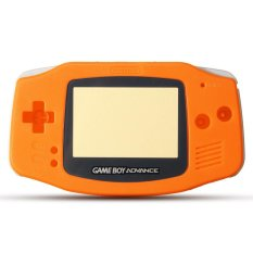 Hình ảnh 10 màu sắc Hoàn Thành Nhà Ở Vỏ Dành Cho Máy Nintendo Gameboy Advance Cho GBA Bao Sửa Chữa Phần Vỏ Màu Cam- quốc tế