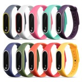 Cửa Hàng 10 Pcs Assorted Colors Fashion Silicone Colorful Replacement Wristband Strap Bracelet Smart Band Accessories For Xiaomi Mi Band 2 Tracker Intl Trực Tuyến