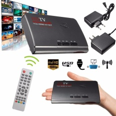 Hình ảnh 1080P HDMI DVB-T-T2 TV Box VGA/AV Tuner Receiver Converter with remote control US - intl