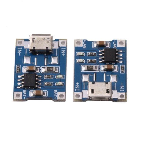 Bảng giá 10 cái 5 v USB Mini 1A TP4056 Bo Mạch Sạc Sạc Modem- quốc tế Phong Vũ
