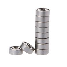 Hình ảnh 10Pcs 624ZZ Mini Metal Double Shielded Flanged Ball Bearing For 3D Printer Parts - intl