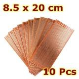 10 cái 8.5x20 cm DIY PCB Nguyên Mẫu Bảng Mạch In Ma Trận Stripboard Đa Năng-quốc tế
