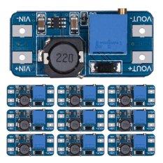 10 cái MT3608 2A DC-DC Bước Lên Điện Áp Dụng Tăng Áp Mô Đun Nguồn cho Arduino-quốc tế