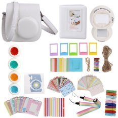 Hình ảnh 11 in 1 Instant Film Camera Album Bundles Set Camera Bag Album Filters(White) - intl