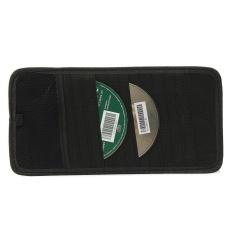 12 đĩa Dung Lượng CD Màn Che Nắng Ô Tô Nhìn Lưu Trữ Dvd Giá Đỡ Đen Bỏ Túi Nhà Tổ Chức