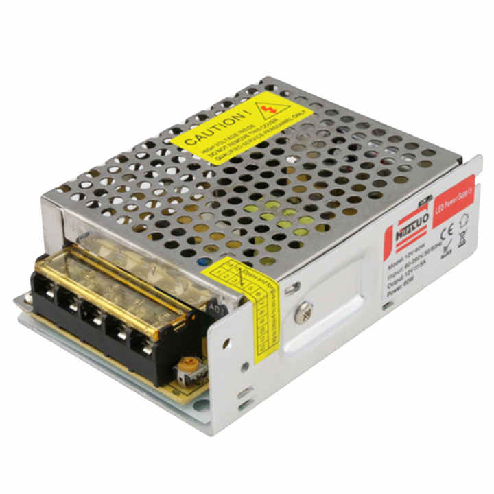 12V 5A 60W Switching Power Supply Driver Transformer for LED Strip Security Camera - intl