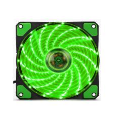 Quạt Tản Nhiệt Nhanh Cho Máy Tính Có 15 Đèn LED Neon 12 v (Xanh lá) -Quốc tế