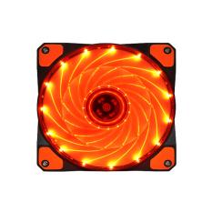 15 LED 12V Light Neon Quite Computer Case Cooling Fan Mod (Red) - intl
