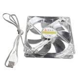 Mua 15 Led 5V Light Neon Quite Computer Case Cooling Fan Mod White Intl Rẻ