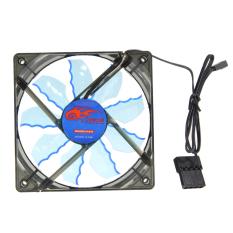 15 Đèn led CPU Làm Mát Fan 12 cm Tản Nhiệt (Xanh Dương) (Quốc Tế)