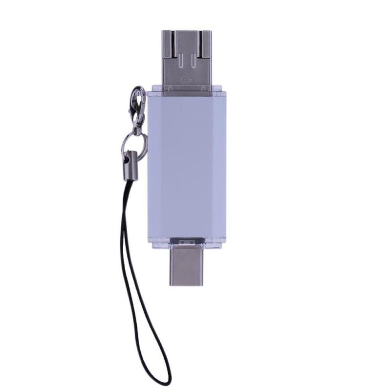 Bảng giá 16G Type-C+ Micro USB+ USB2.0 3 in 1 USB Flash Drive Memory Stick(White) - intl Phong Vũ