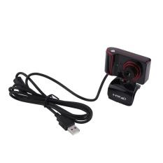 Hình ảnh Web Camera có thể xoay vòng 16 m Pixel HD dành cho MÁY TÍNH máy tính Màu Đen + Đỏ- quốc tế