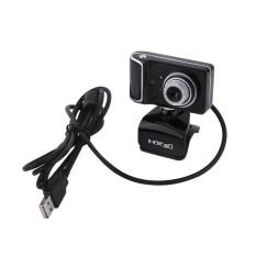 Hình ảnh Web Camera có thể xoay vòng 16M Pixel HD dành cho PC máy tính Màu Đen + Bạc