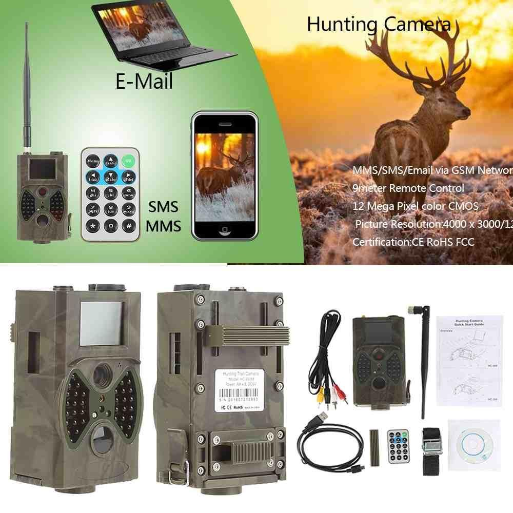 16Mp 1080P Hc-350M Trail Game Hunting Farm Security Camera Night Vision Video