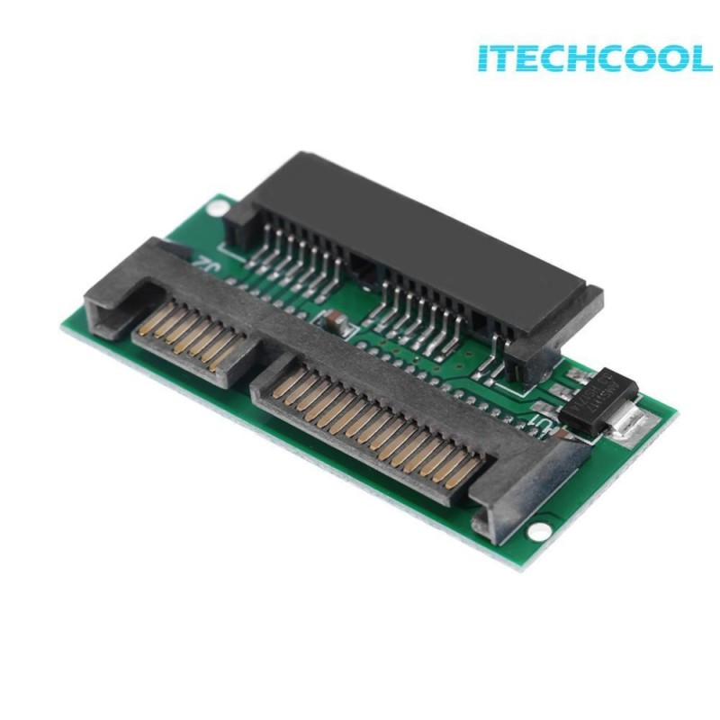 Bảng giá 16Pin 1.8inch Micro SATA Female to 2.5inch 22Pin SATA Male Port Adapter Card -  intl Phong Vũ