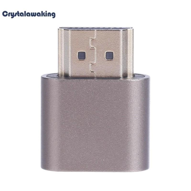 Bảng giá 1 cái Ảo Adapter HDMI Giả Cắm Không Đầu Ma Màn Hình Thiết Bị Giả Lập 4K3840x2160-quốc tế Phong Vũ
