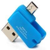 2-In-1 USB 2.0 sang Micro USB OTG Adapter + Micro SD Card Đọc Thẻ TF-quốc tế
