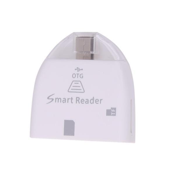 2 trong 1 USB2.0 Đa Năng OTG + Đầu Đọc Thẻ SD-quốc tế